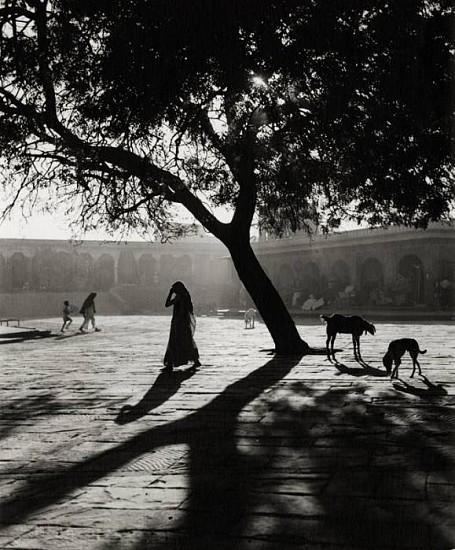 Ferenc Berko ,   Early Morning Market, Nowshera, India  ,  1945     Early gelatin silver print ,  9 1/4 x 7 9/16 in. (23.5 x 19.2 cm)     3637     Sold