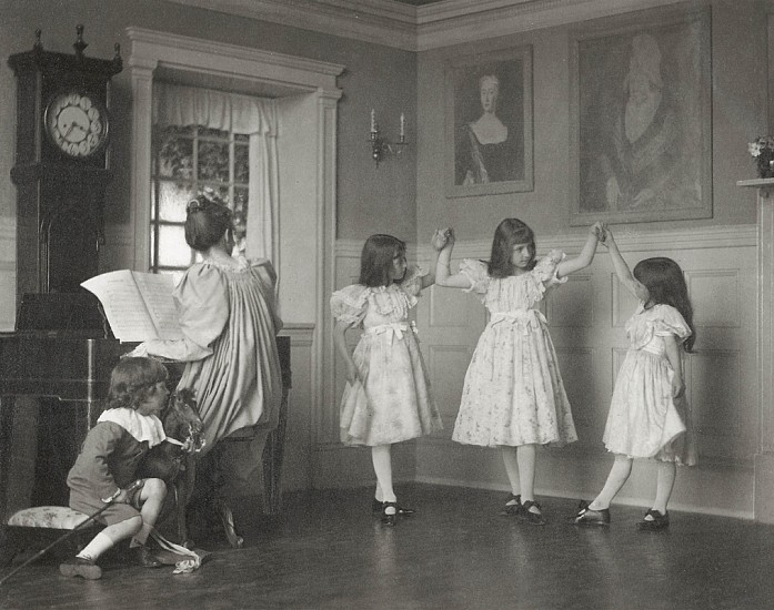 Rudolf Eickemeyer ,   The Dance  ,  1900     Carbon print; most likely printed in 1928 ,  7 3/4 x 11 1/2 in. (19.7 x 29.2 cm)     4170     Sold