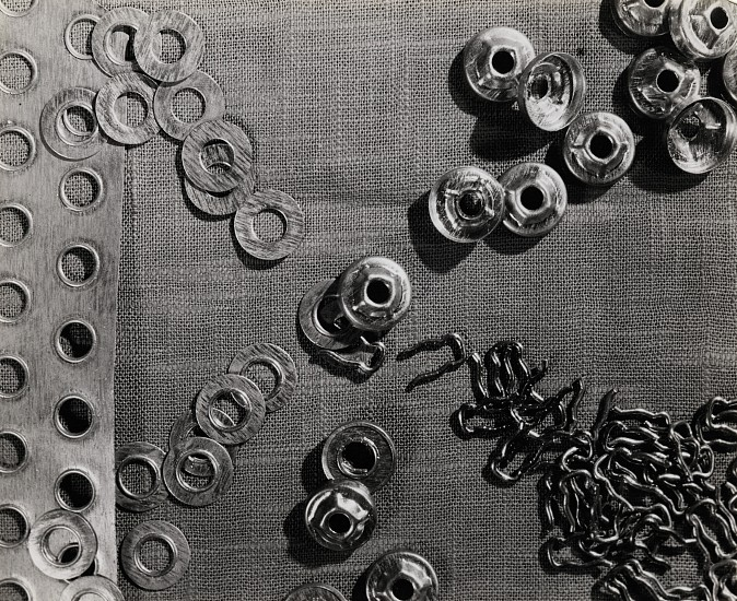 Ferenc Berko ,   Button Factory, India  ,  c. 1938-47     Vintage gelatin silver print ,  7 5/8 x 9 5/16 in. (19.4 x 23.6 cm)     3689