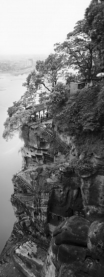 Lois Conner ,   Leshan, Sichuan, China  ,  1986     Pigment print ,  24 x 59 1/2 in. (61 x 151.1 cm)     Edition of 6     7169     $10,500