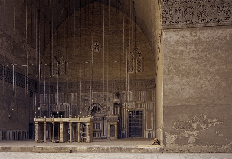 Adam Bartos ,   Cairo, Egypt (Sultan Hassan Mosque)  ,  1980     Pigment print ,  31 5/8 x 42 1/4 in. (80.3 x 107.3 cm)     Edition of 3     4786