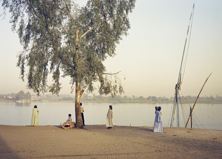 Adam Bartos ,   Luxor, Egypt (Nile riverbank)  ,  1980     Pigment print ,  31 5/8 x 41 in. (80.3 x 104.1 cm)     Edition of 3 sold out     4791     Sold