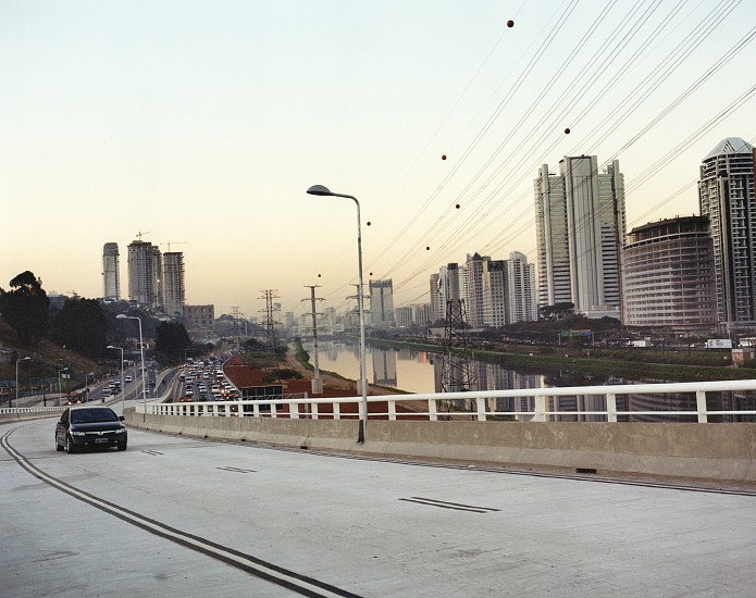 Allen Frame ,   View of Sao Paulo  ,  2008     Chromogenic color print ,  21 7/8 x 27 1/2 in. (55.6 x 69.8 cm)     Edition of 5     5703