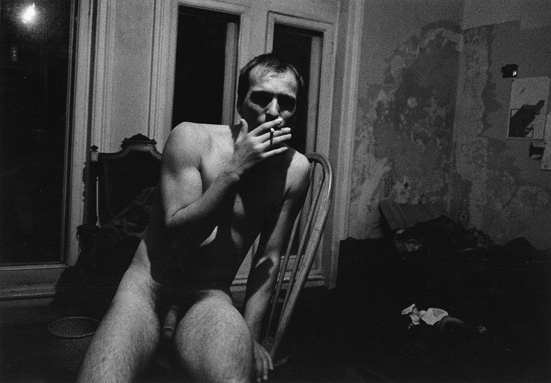 Allen Frame ,   Jonas, London  ,  1995     Gelatin silver print ,  26 x 39 in. (66 x 99.1 cm)     Edition of 3     5666