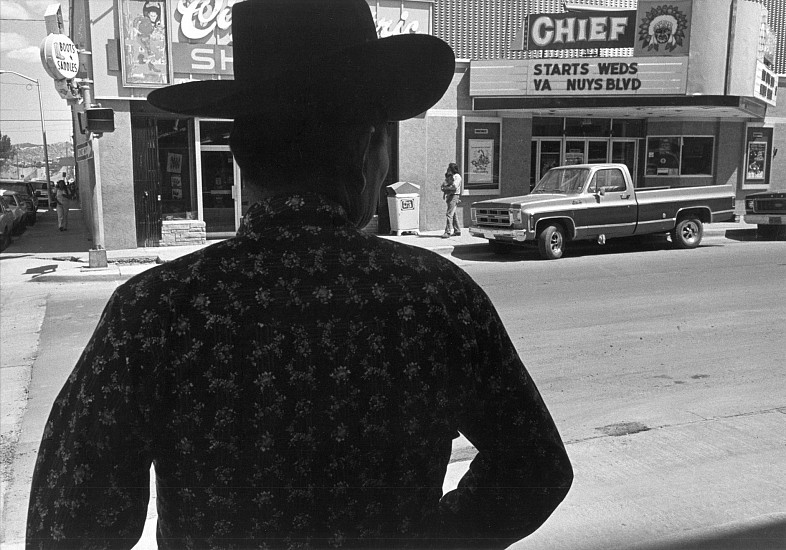 Roswell Angier ,   Gallup, New Mexico  ,  1980     Vintage gelatin silver print ,  11 3/4 x 17 7/8 in. (29.9 x 45.4 cm)     2402     Sold
