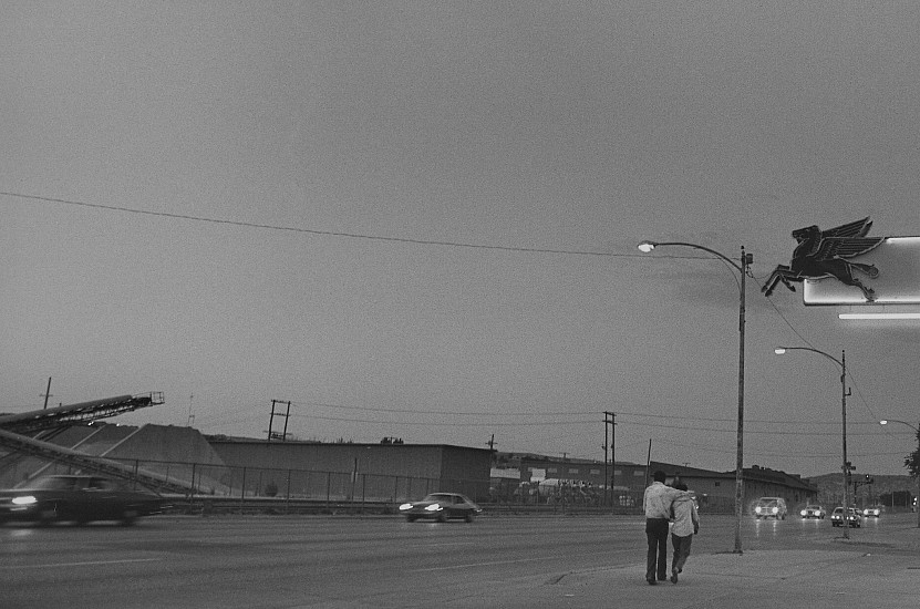 Roswell Angier, Highway 66, Gallup 1979, Vintage gelatin silver print