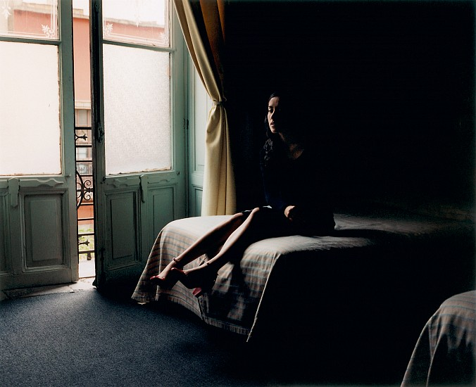 Allen Frame ,   Paola, Mexico City  ,  2007     Chromogenic color print ,  30 x 35 1/2 in. (76.2 x 90.2 cm)     Edition of 5     3097