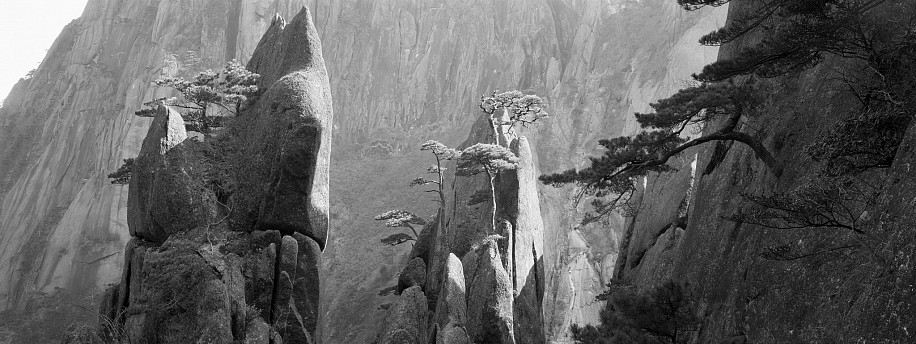 Lois Conner ,   Huangshan, Anhui, China  ,  1985     Pigment print ,  23 1/2 x 60 in. (152.4 x 59.7 cm)     Edition of 6     7168     $10,500