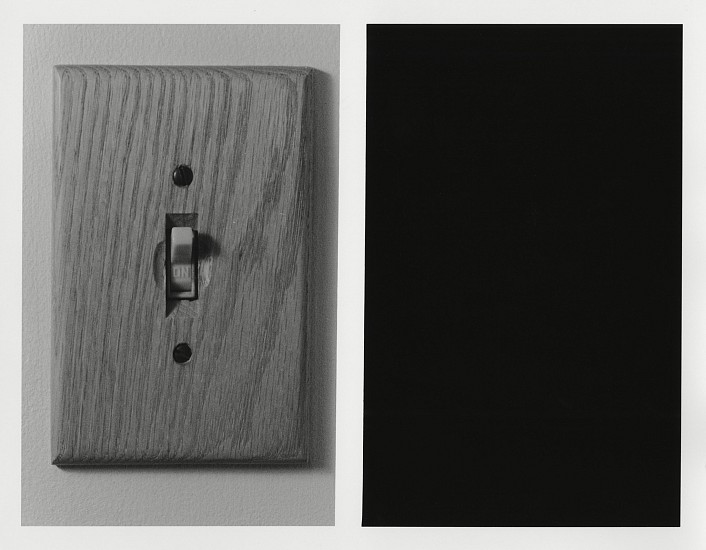 Kenneth Josephson ,   Chicago  ,  1969/2012     Gelatin silver print ,  6 3/4 x 8 7/8 in. (17.1 x 22.5 cm)     (Conceived 1969, Born 2012)     8019     $3,500