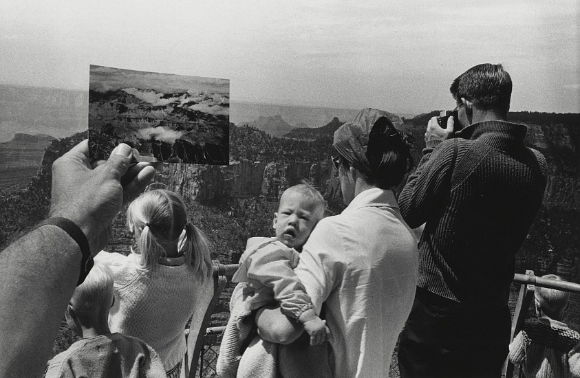 Kenneth Josephson ,   Grand Canyon, Arizona  ,  1971     Vintage gelatin silver print ,  5 15/16 x 9 1/16 in. (15.1 x 23 cm)     8005     Sold