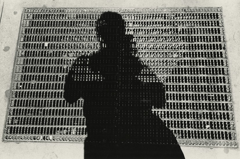 Kenneth Josephson ,   Chicago  ,  1964     Vintage gelatin silver print ,  4 3/7 x 7 1/16 in. (11.2 x 17.9 cm)     (self-portrait)     8013     $6,000